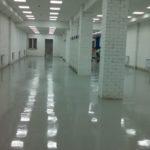 Устройство бетонных полов с упрочнённым верхним слоем