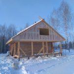 строительство дома Княжий луг